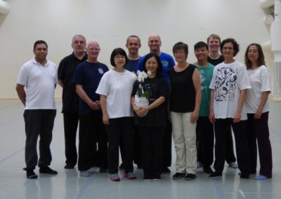 Tai Chi Seminar Therese Teo Mei Mei Stockholm 2015